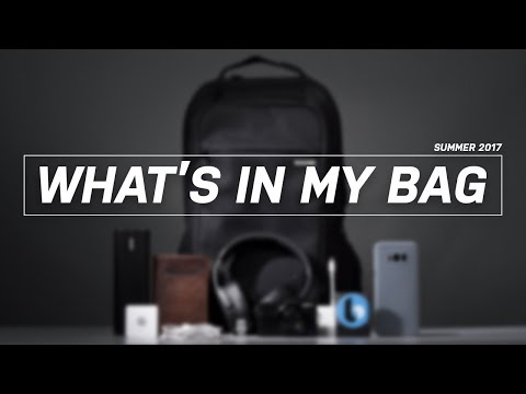 What's In My Tech Bag V1.0