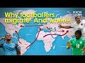 HOW global migration shapes football