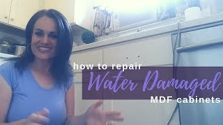 How To Repair Water Damaged MDF Cabinets