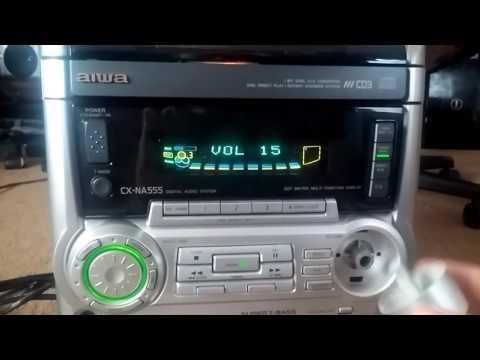 Free Aiwa Stereo CX-NA555 and Abba 8 track