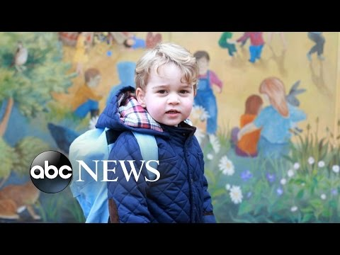 Prince George's 1st Day of Nursery School