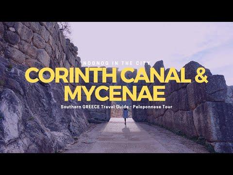 TRAVEL: Peloponnese Tour (Corinth Canal & Mycenae in Greece) #38