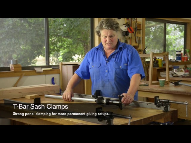The Happy Clamper - T-Bar Sash Clamps
