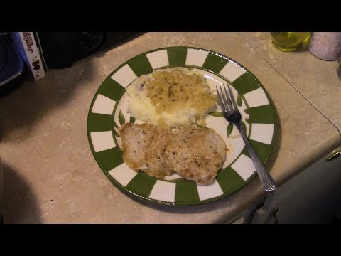 Amish Pork Chops And Sauerkraut