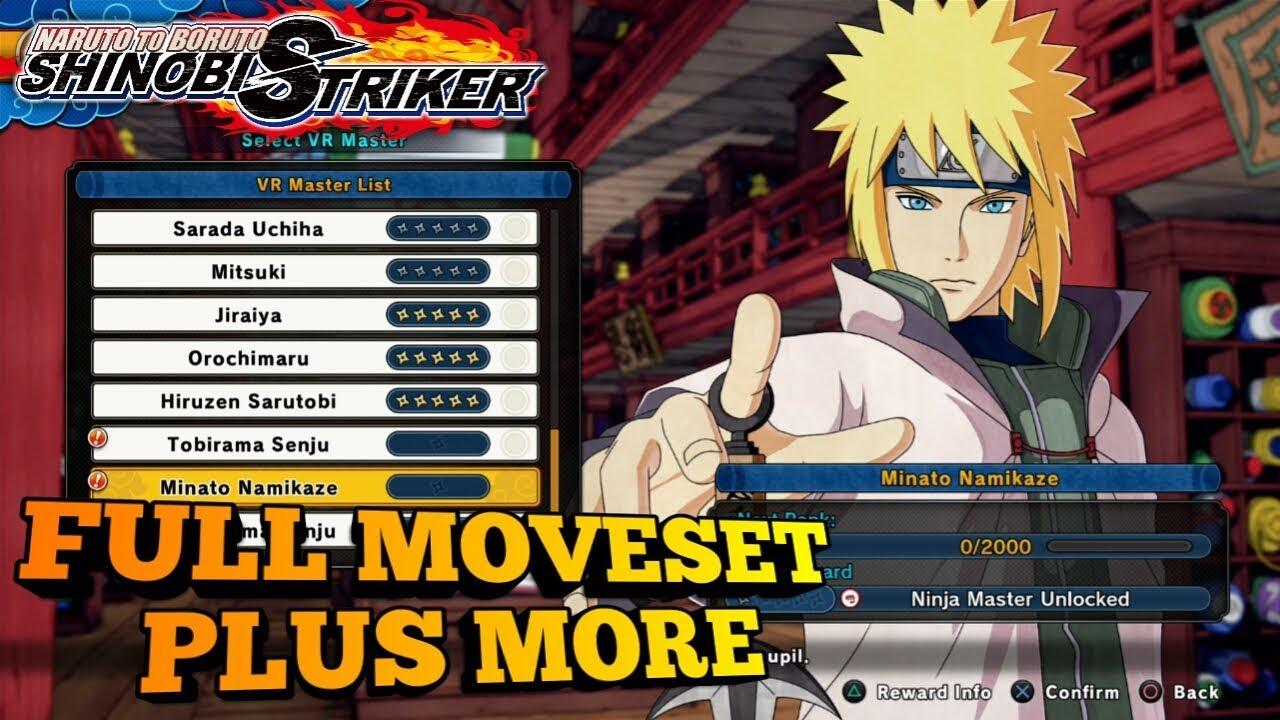Minato DLC Pack #4 FULL MOVESET + MORE! Naruto To Boruto Shinobi Striker