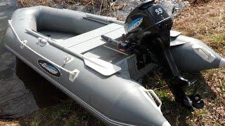 Лодочный мотор Гладиатор 9.9-15. Обзор, обкатка.