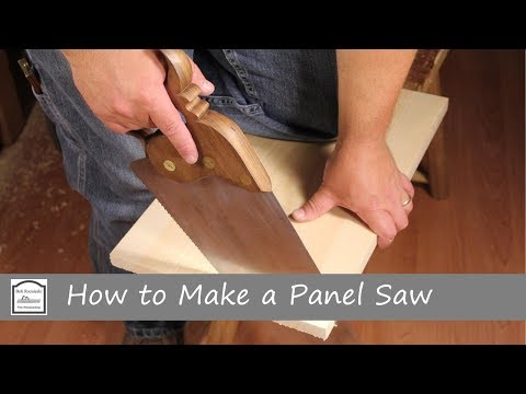 How to Make a Panel Saw