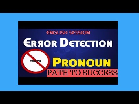 PRONOUNS - Learn English Grammar for SBI, IBPS , SSC, Police ,BBA, CLAT, Hotel management -Pronoun 1