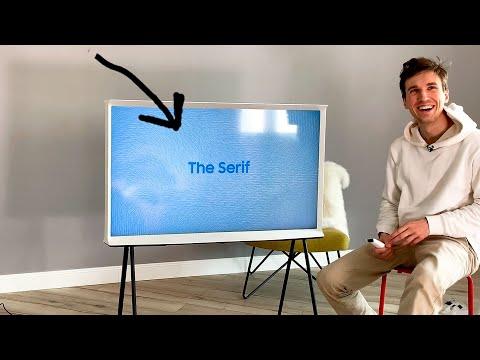 Самый стильный телевизор? The Serif