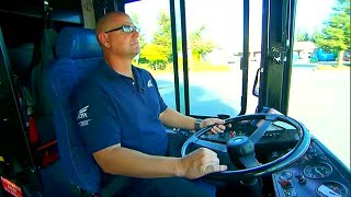 This Bus Driver Gets a Strange Feeling about a Boy on the Bus and Stays Alert When He Sees the Boy !