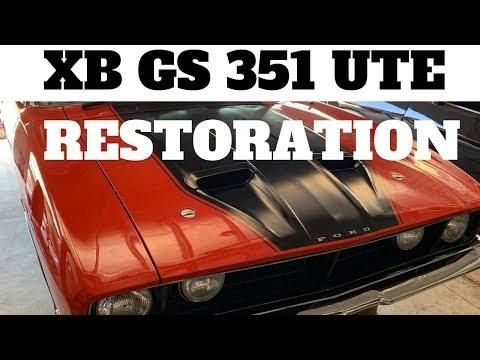 XB GS Falcon Ute Restoration