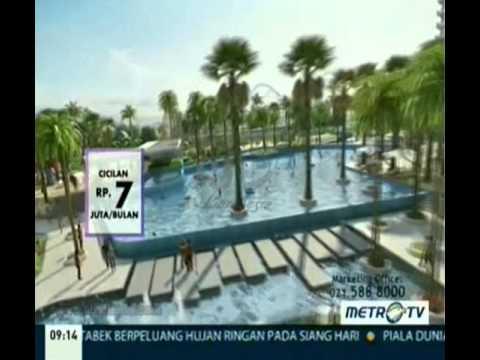 Iklan Pantai Indah Kapuk Apartement - Bukit Golf Mediterania 7 Juta/Bulan Intro Merah