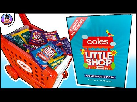Coles Exclusive Little Shop Minis Opening + Collectible Food + Accessories | OzToyReviews