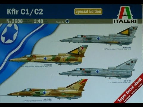 So easy yet so troublesome: Italeri´s 1/48th IAI Kfir C.1/ C.2
