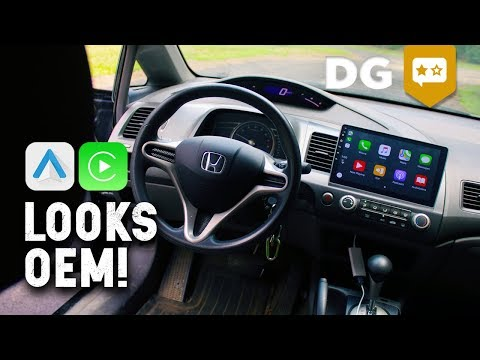Cheap Android Head Unit For ANY VEHICLE? Aftermarket Apple Carplay, Android Auto