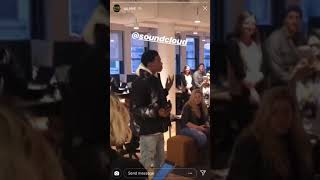 A BOOGIE UNRELEASED HOODIE SZN SNIPPET