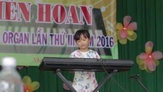 Mai Thy tham gia lien hoan Đàn Organ - Huyện Nhà Bè.2016