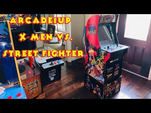 X-Men vs. Street Fighter - Arcade1Up Cabinet from MRN Bricks
