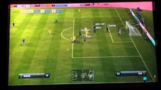 fifa 12 club semi final cup match 2 1st half