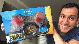 Opening NEW Pokemon Cards DRAGON MAJESTY SUPER PREMIUM COLLECTION BOX!