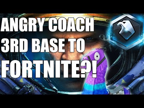 Starcraft ANGRY COACH #26 - 3rd Bases Lead To FORTNITE??? (Platinum Protoss) thumbnail