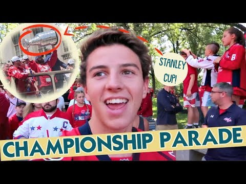 IT'S THE CHAMPIONSHIP PARADE IN WASHINGTON DC!