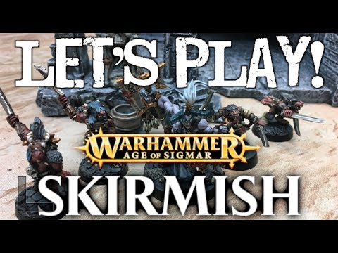 Let's Play! - Warhammer: Age of Sigmar Skirmish