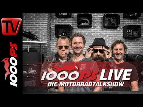 1000PS Live - Die Motorradtalkshow - u.a. Reiseenduros 2018 im Test