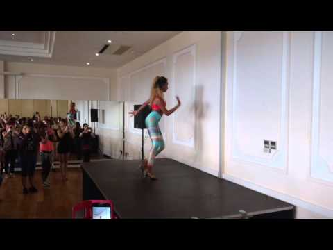 Bersy Cortez, Salsa Ladies Styling, All Levels, with counts and music, 20160327