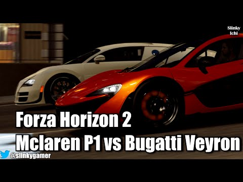 forza horizon 2 fast furious mclaren p1 vs bugatti. Black Bedroom Furniture Sets. Home Design Ideas