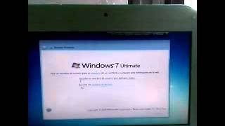 Como Formatear una Canaima y montar Windows 7