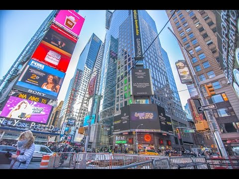 FREE New York City 4K Timelapse! - [Times Square]