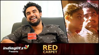 Kissing onscreen is the dumbest thing ever - Tovino Thomas Interview | Godha | Red Carpet
