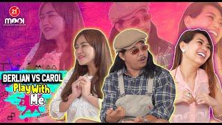 HOT GAME Mey Berlian VS Carol Wong BUKA BAJU! CHALLENGE