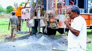 Borewell drilling || borewell explanation || village borewell drilling