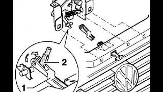 Как открыть капот на Passat B5? (Челябинский метод). How to open the hood Passat B5?(, 2015-06-25T11:01:38.000Z)