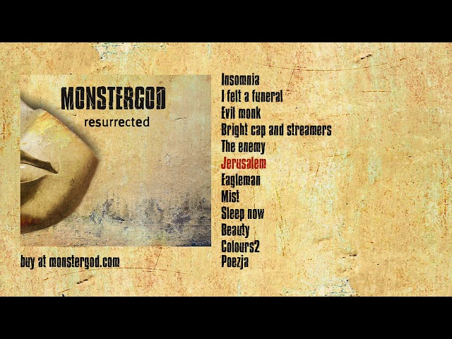 Monstergod - Jerusalem - official audio (2012)