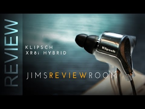 Klipsch XR8i Hybrid $279 Earphone - REVIEW