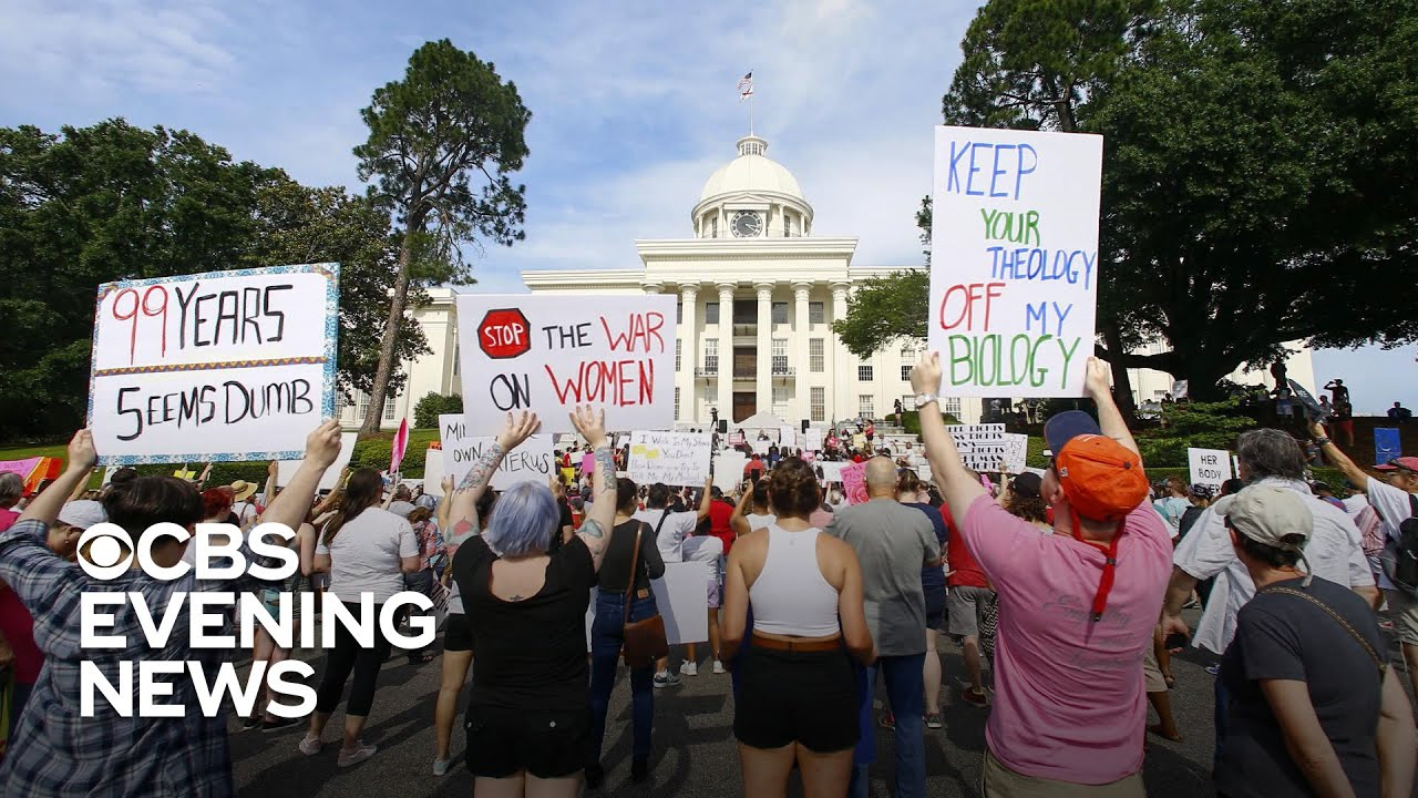 Trump distances himself from Alabama's strict abortion law