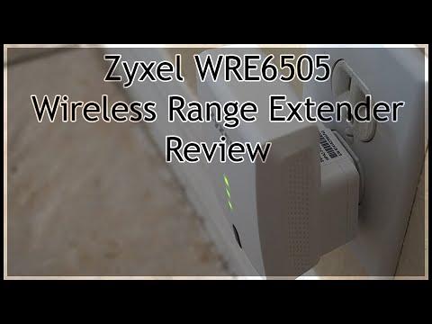Zyxel WRE6505 Wireless Range Extender - Review