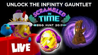 ROBLOX EGG HUNT 2019! VIDEO STAR EGG GIVEAWAY, ALL EGGS, AVENGERS END GAME! | Roblox