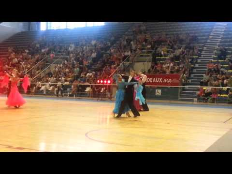 Jolie danse en compétition