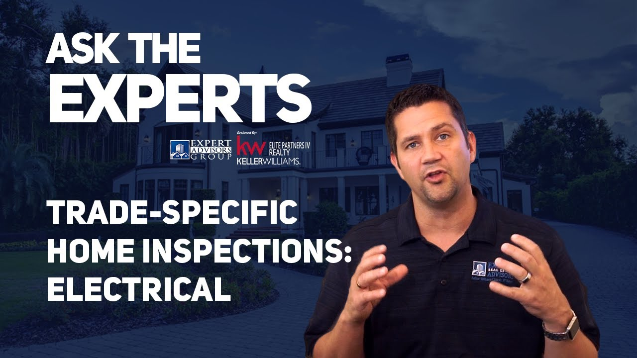 Ask the Experts: Home Inspections Trade Specific Inspections - Electrical -   Jon Wanberg