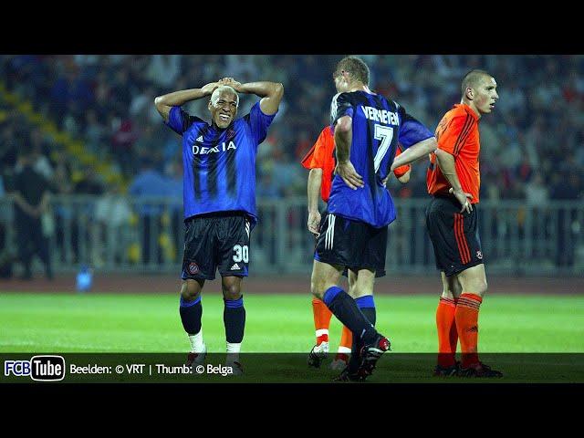 2004-2005 - Champions League - 03. 3de Voorronde - Shakhtar Donetsk - Club Brugge 4-1