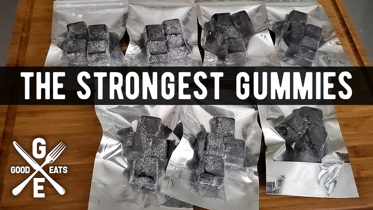 The EASIEST Way To Make The STRONGEST Cannabis Gummies | GoodEats420.com