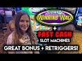 Clinko Winning Wall! Slot Machine! BONUS Lots of Re-Triggers!!