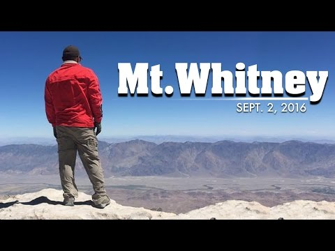 Mt Whitney 090216