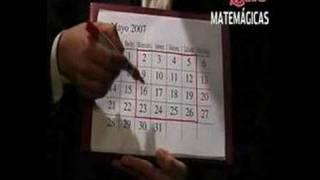 TRUCO 9: Adivinación de los calendarios