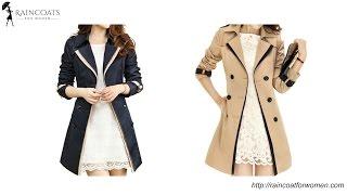 Elegant Women's Long Trench Coat With Belt
