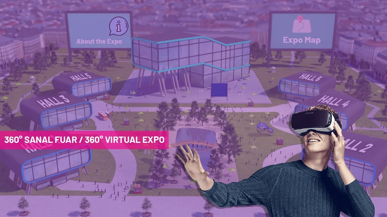 360 Virtual Reality FaiVR Platfrom Virtual Expo Virtual Fair Platform